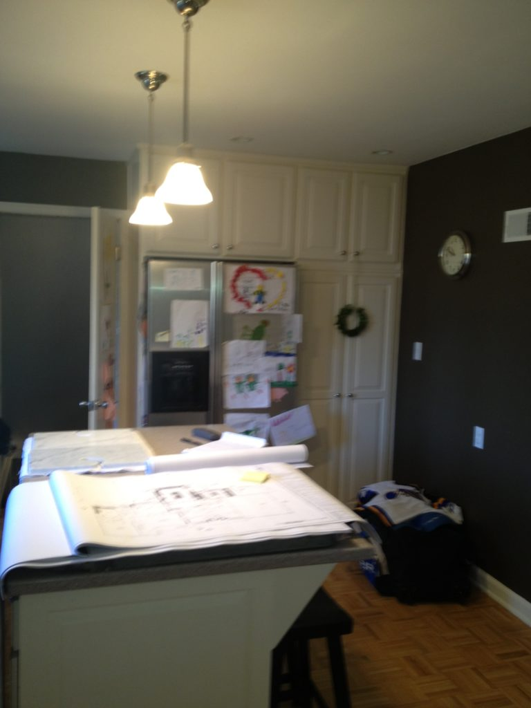 Before Picture of a Scovell Wolfe Kitchen Remodel