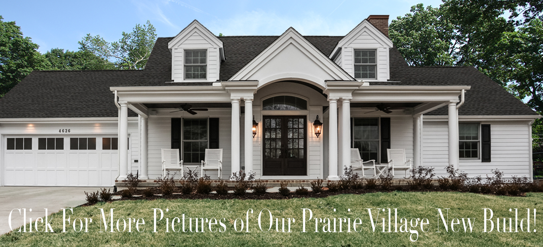new construction cape cod by scovell wolfe in prairie village kansas