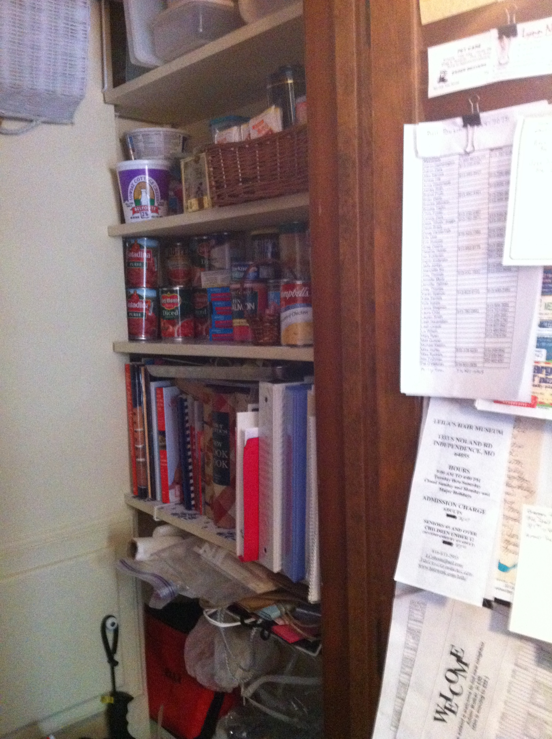 existing pantry prior to scovell wolfe construction