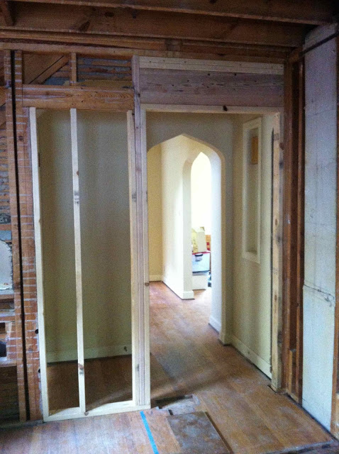 new framed entrance by scovell wolfe