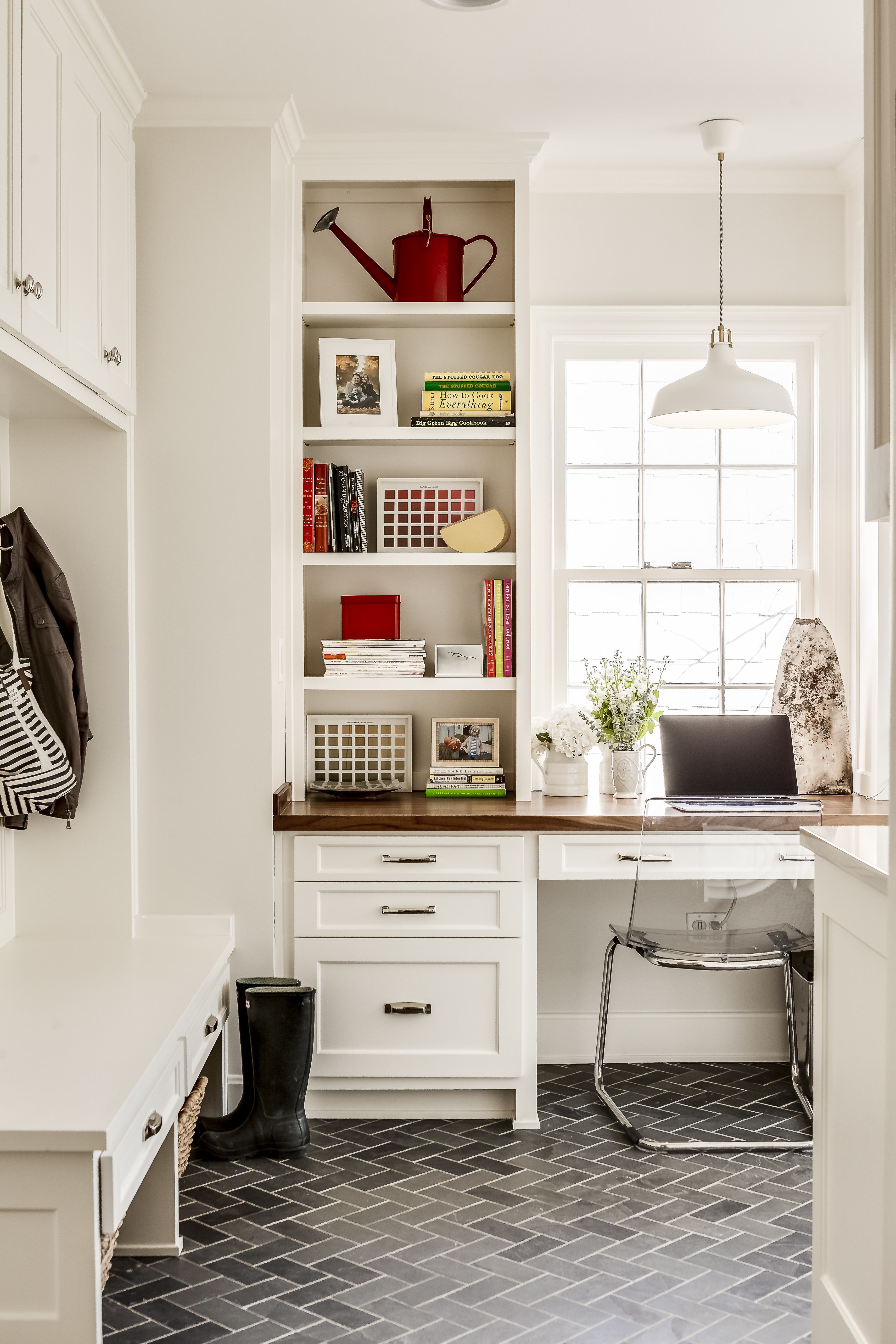 mudroom after by scovell wolfe remodeling in kansas city