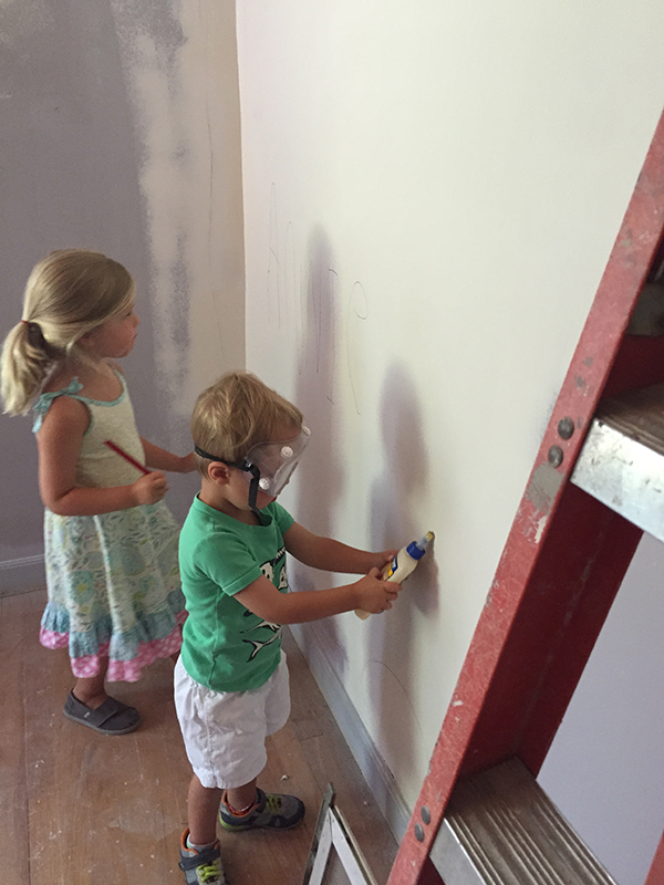 kids painting scovell wolfe