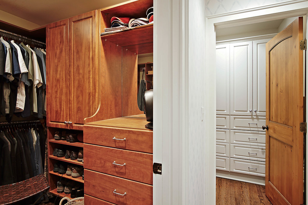 master closets his and hers