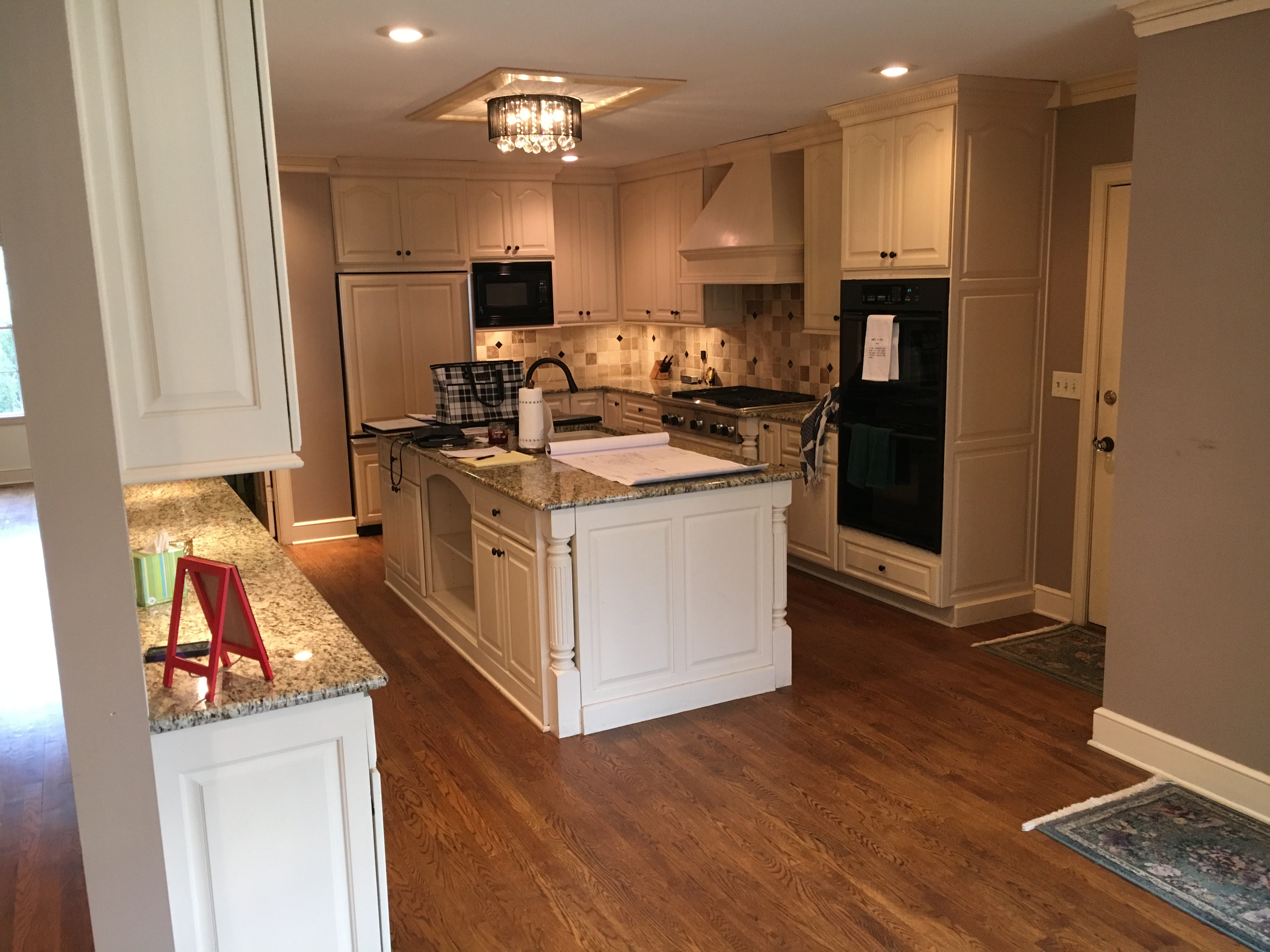 before kitchen near loose park