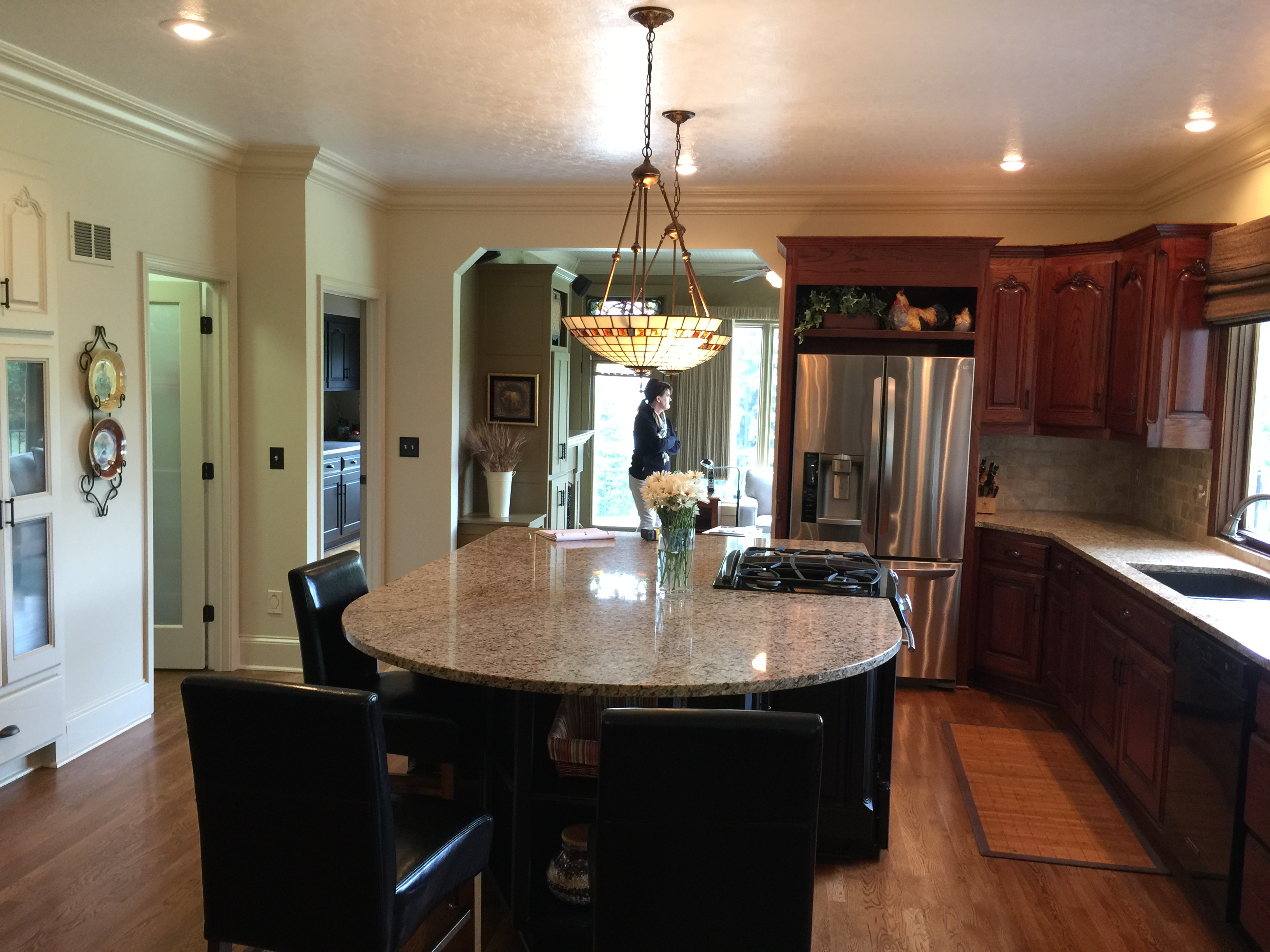 hallbrook kitchen before scovell wolfe remodel