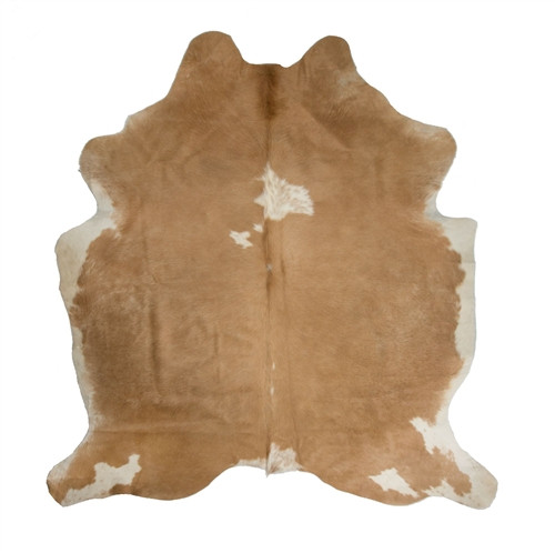 cowhide rug from Ikea