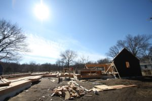 framing a new scovell wolfe house