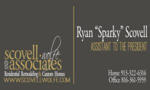 ryan's assistant to the president business card
