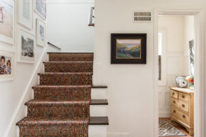 brookside whole house remodel with antique stair runner