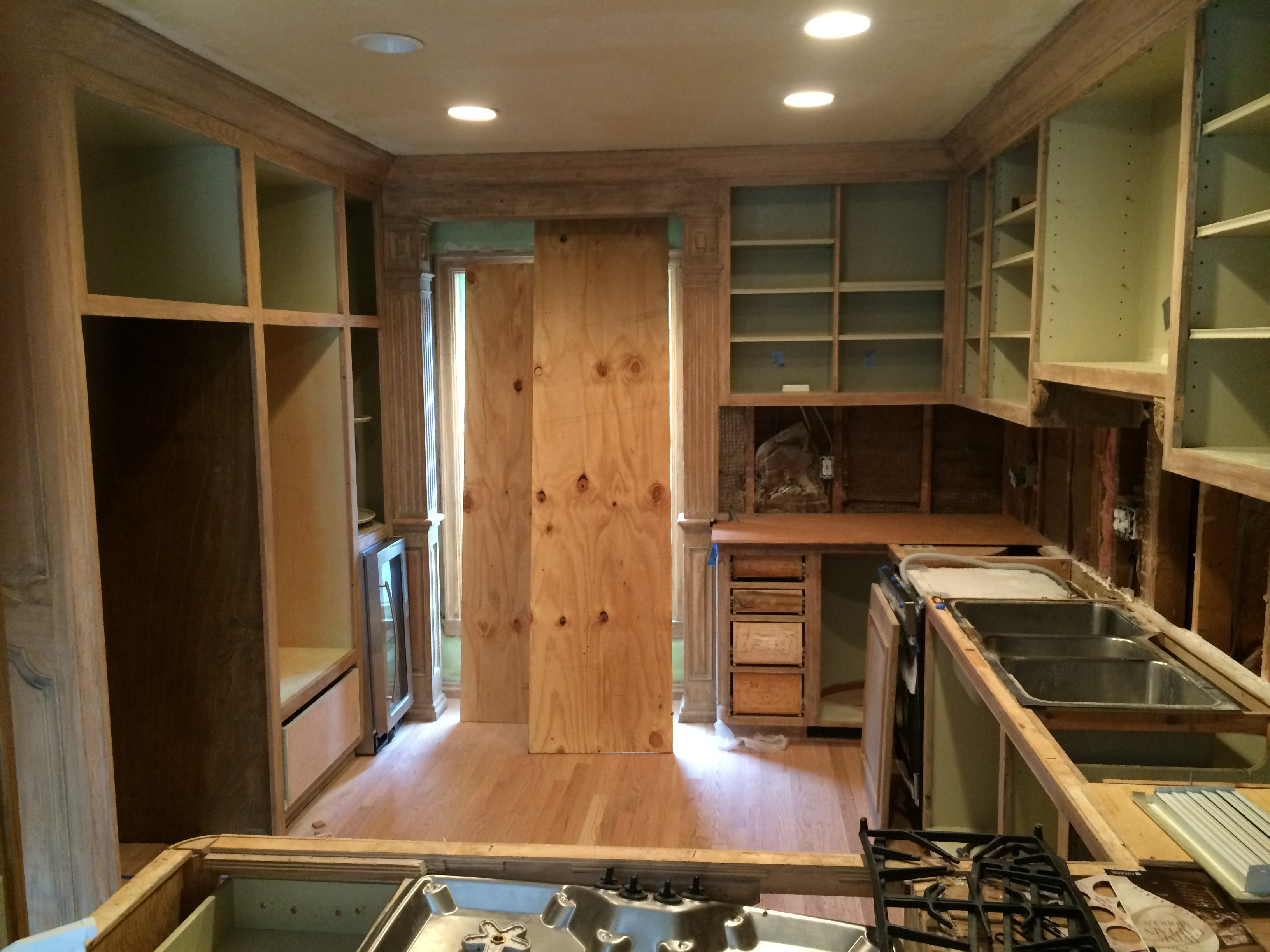 kitchen before scovell wolfe remodel