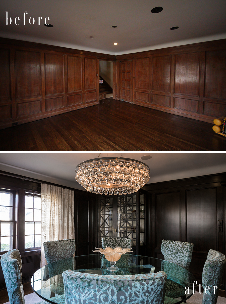 scovell wolfe dining room before and after