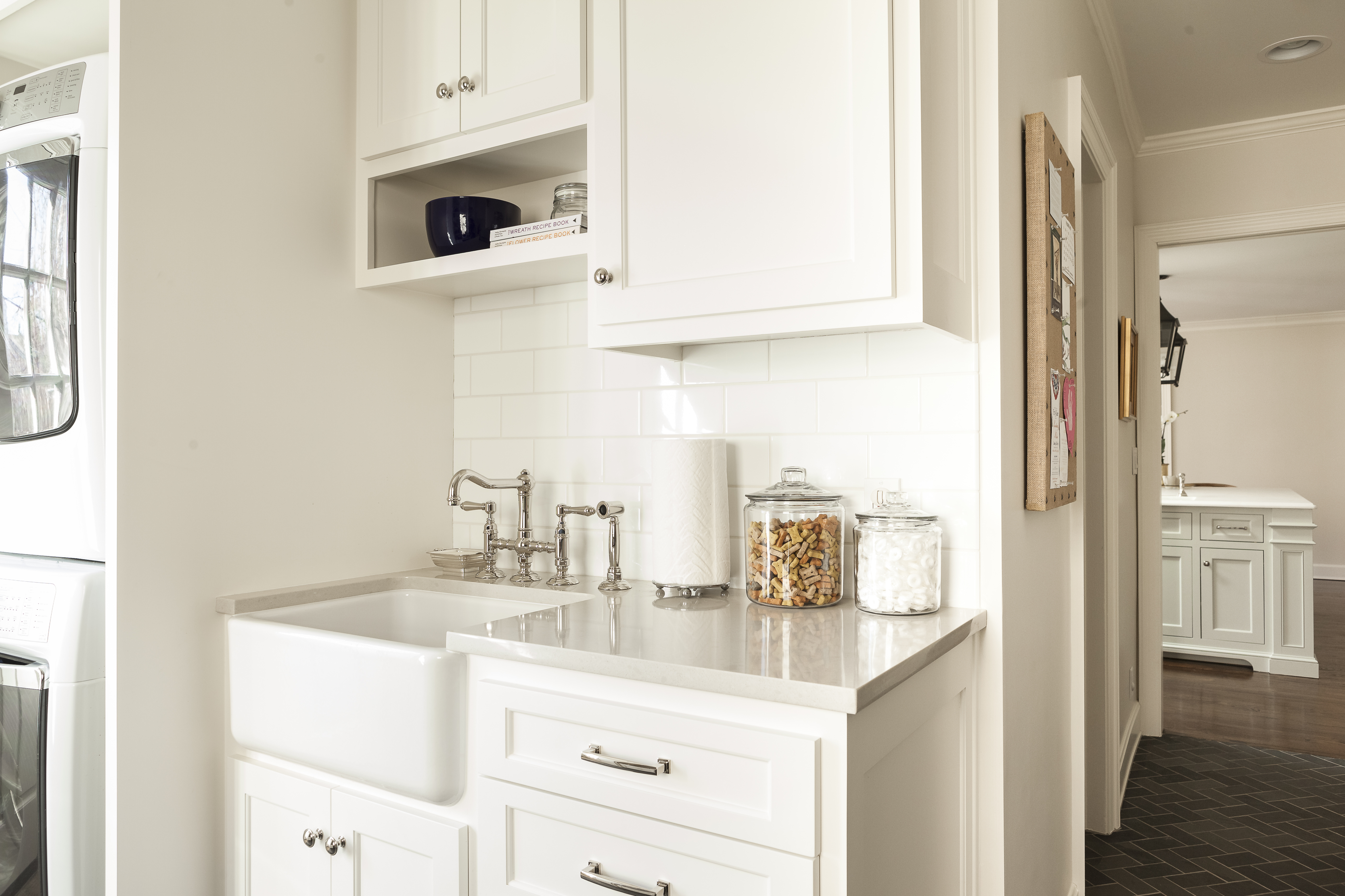 after picture of scovell wolfe remodeled laundry mudroom