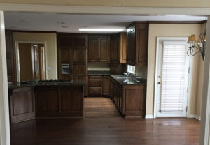 before scovell wolfe kitchen remodel in mission hills