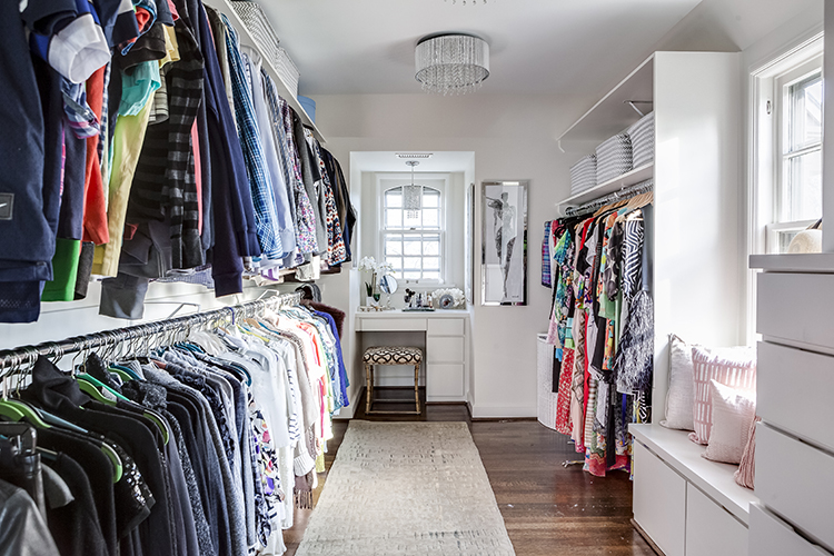 custom master closet by scovell wolfe