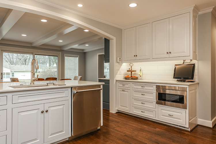 kitchen archway by scovell wolfe