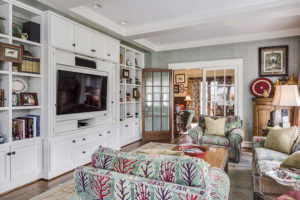 built in entertainment center in sunset hills home