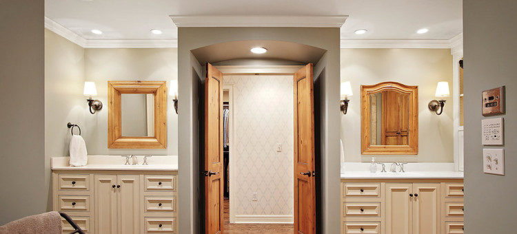 Arched entrance - Scovell Remodeling