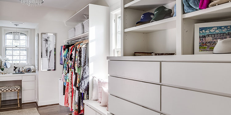 Walk-in Closet Scovell Remodeling