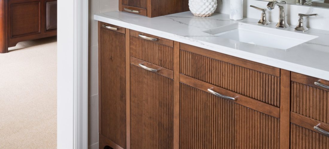 Reeded Doors - Scovell Remodeling