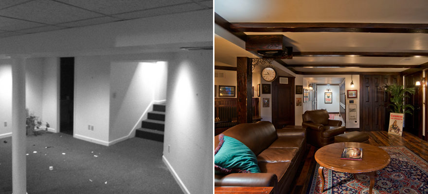 Basement by Scovell Remodeling