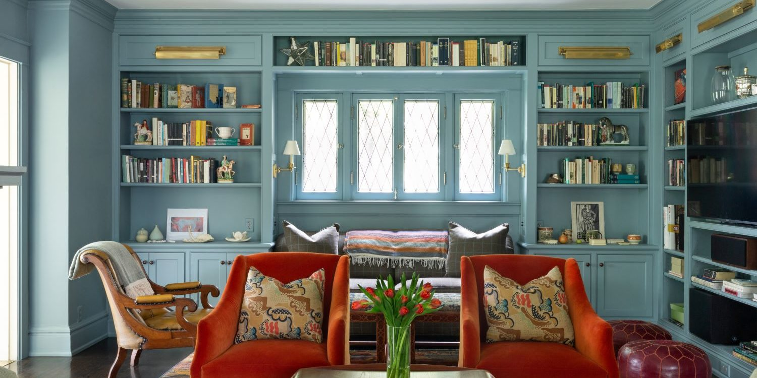 Living Room by Scovell Remodeling