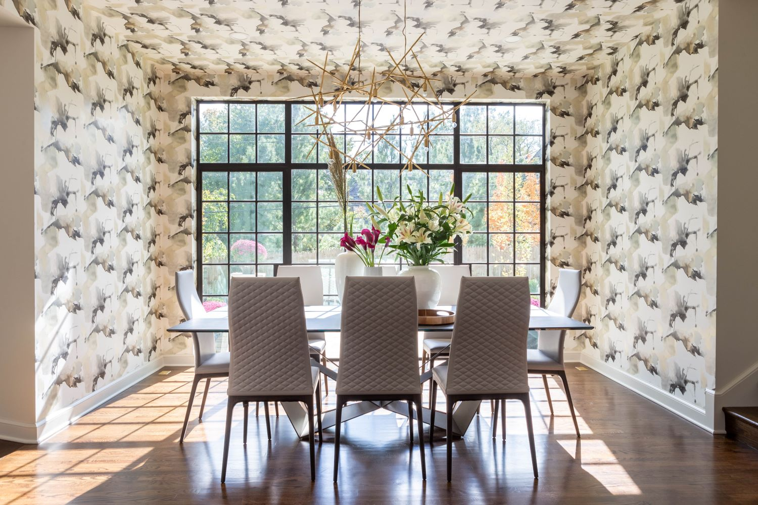 Kansas City Dining Room by Scovell Remodeling
