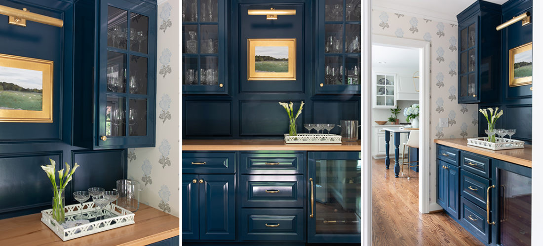 farrow and ball hague blue bar in kansas city by scovell remodeling