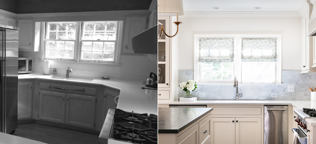 mission hills kitchen before and after by scovell remodeling